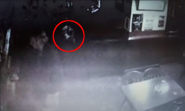 A ghost imp is captured on CCTV at a haunted Sussex Pub 9