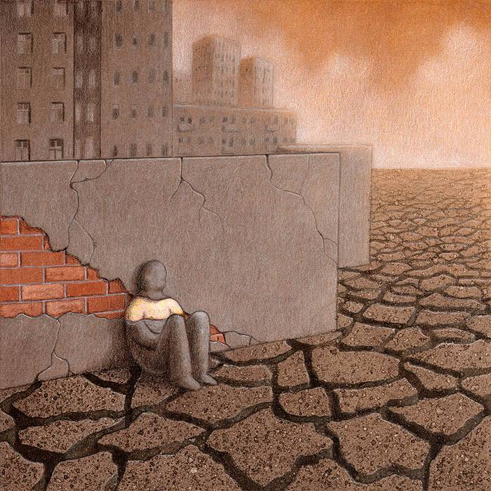 Our backwards society displayed in these powerful art illustrations 178