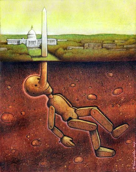 Our backwards society displayed in these powerful art illustrations 176