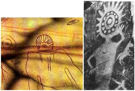 Mysterious Art depicting Ancient Aliens and Intelligent Ancestors 132