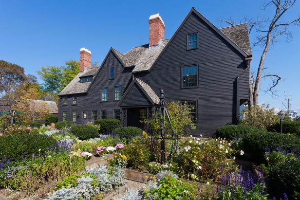 House of the Seven Gables in Salem, Mass.