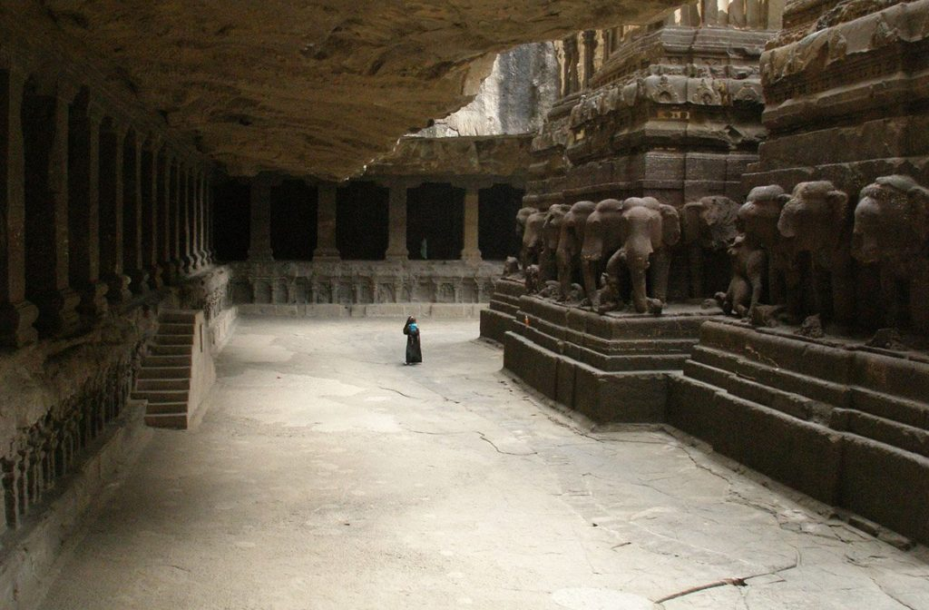 This Temple Was Carved Out Of A Single Rock – Nobody Knows How 'The Builders' Made It 13