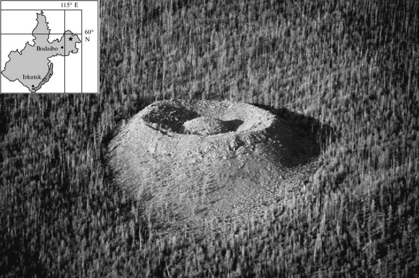 UFO Or A Meteorite? Mystery Surrounded Patomskiy Crater 4