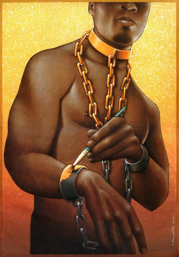 Our backwards society displayed in these powerful art illustrations 181