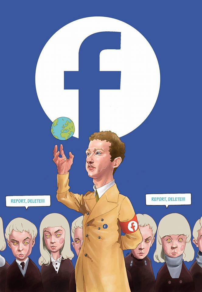 Facebook Says It's Deleting Accounts On Behalf of The U.S., Israeli, & German Governments — This Is Just The Beginning 101