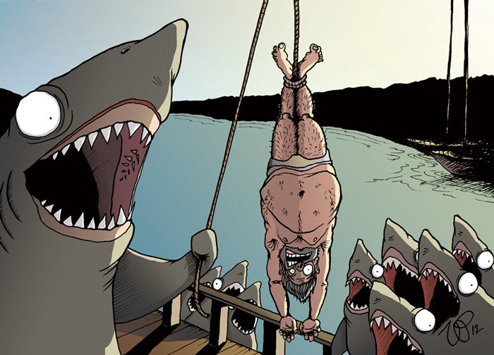 How Would You Feel? 20 Shocking Illustrations Reversing Animals With Humans 8