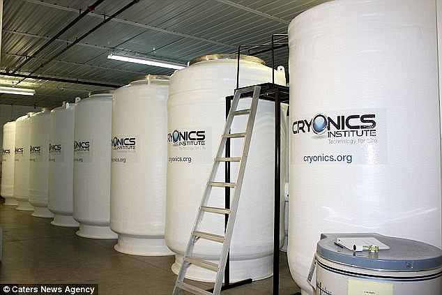 First human frozen by cryogenics could be brought back to life 'in just TEN years', claims expert 93