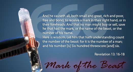 Video: 666 The Mark Of The Beast, RFID Chips For Every Man, Woman, and Child On Earth 12
