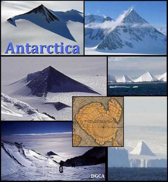 Ancient Pyramids found in Antarctica 90