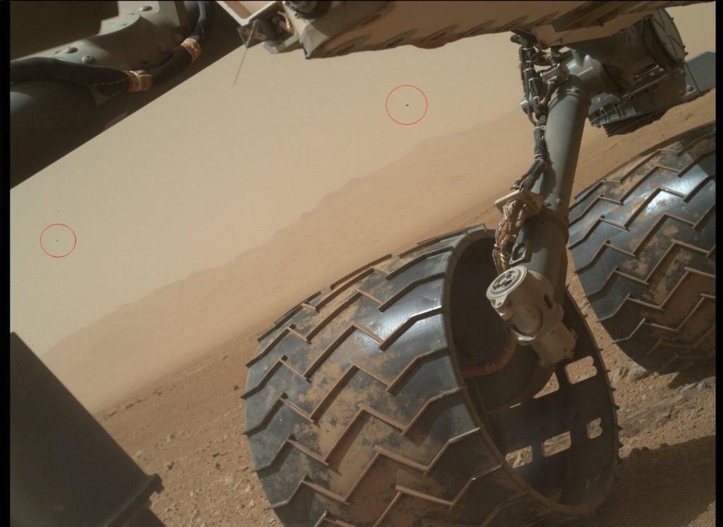 NASA Mars Curiosity Photographed UFOs 38