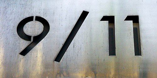 About 9/11, Nr 911 and MS Word typing. 1