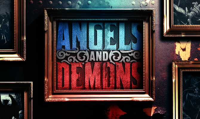 Angels and Demons Captured on Film 86