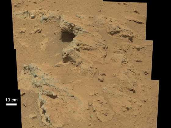 NASA's Curiosity Rover Finds Signs Of Ancient Water Stream 1