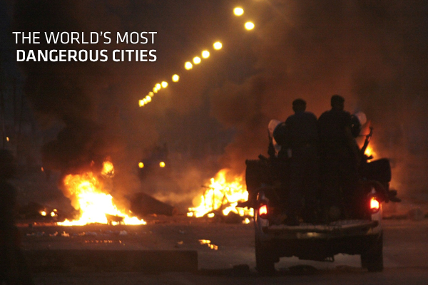 The 50 Most Dangerous Cities In The World 1