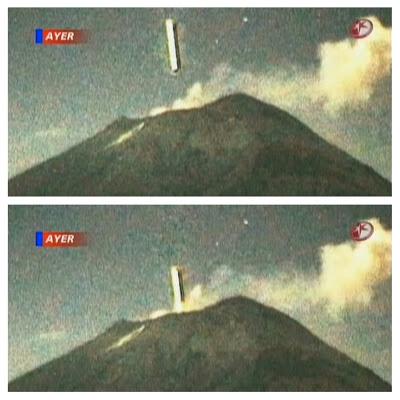 200 Meter Cigar UFO Enters Volcano Near Mexico City 86