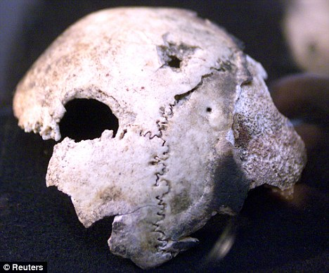 Hitler's skull is really a woman's: New doubts over death after tests 45