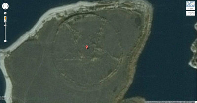Satelite Shows Huge Pentagram In Kazakhstan 1