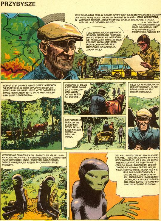 The Emilcin UFO Abduction 1