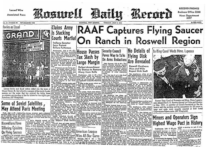 Leaked Photos Of Roswell Aliens And Craft? 14