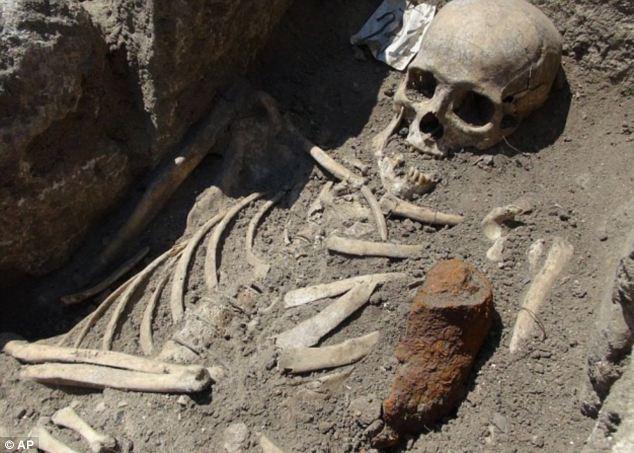 Vampire Skeleton Found In UK 33
