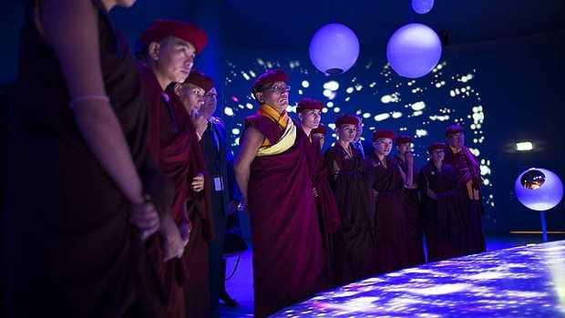 Kung fu nuns teach cosmic energy to CERN scientists 28
