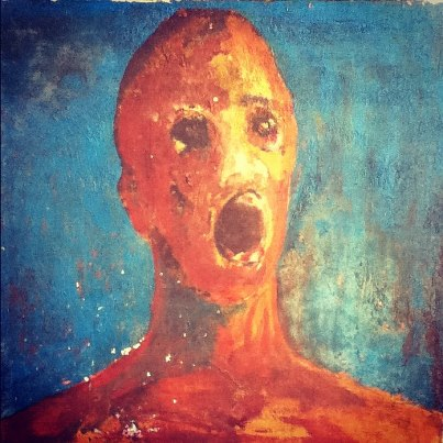 """The Torturous Cries of """"The Anguished Man"""" Painting 95"""