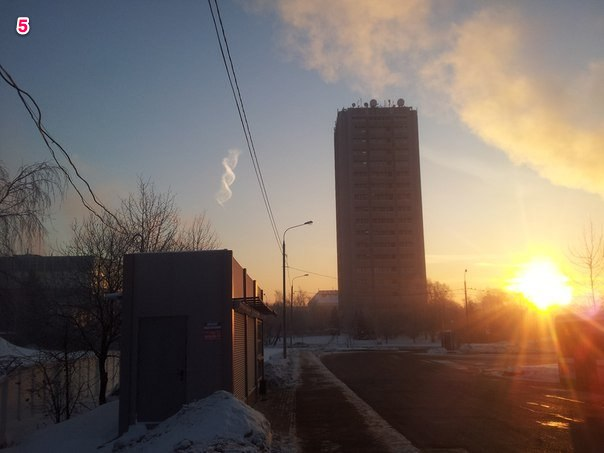 Strange Double Helix Cloud Appears Over Russia 94