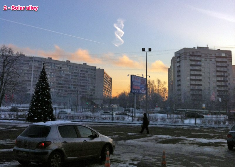 Strange Double Helix Cloud Appears Over Russia 95