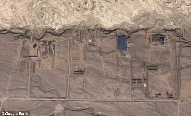 Chinese Google Earth mystery: Ex-CIA analyst spots strange buildings 13