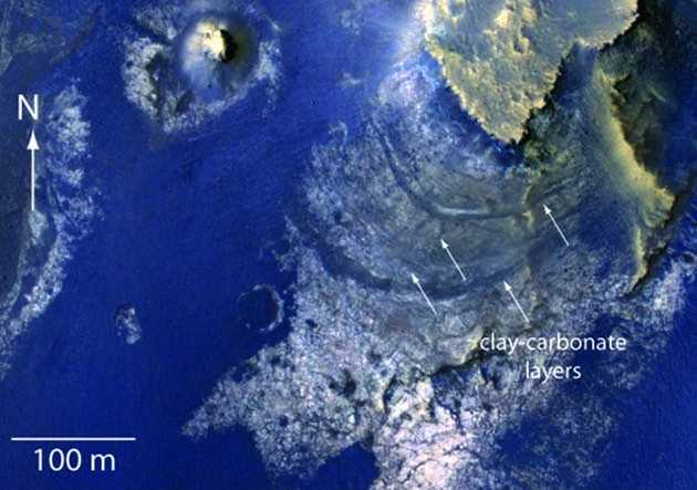 NASA photo shows Mars crater was once an ancient lake 19