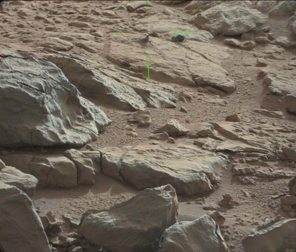 Shiny Object Spotted On Mars - Mars Curiosity - 2013 1