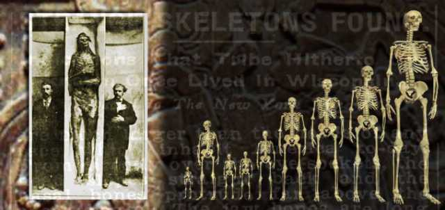 A giant mystery: 18 strange giant skeletons found in Wisconsin: Sons of god; Men of renown 47