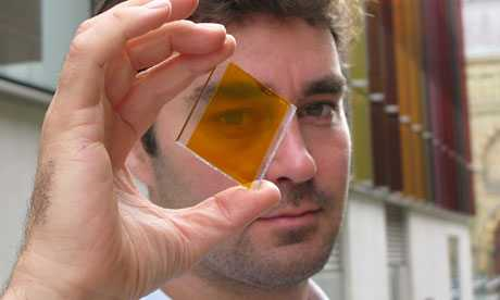 Colourful 'solar glass' means entire buildings can generate power 86