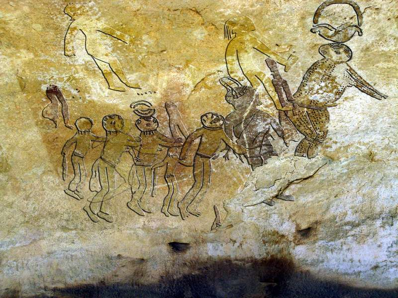 UFO's in ancient paintings