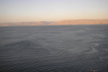 Mysterious Stone Structure Discovered Beneath Sea of Galilee 1