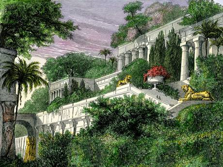 Were the Hanging Gardens really in Babylon ? 1