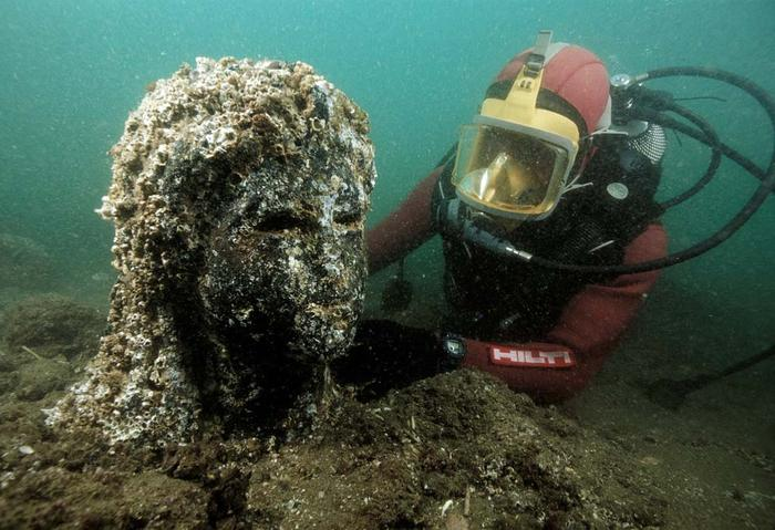 Lost Egyptian City Finally Found After 1, 200 Years Under The Sea