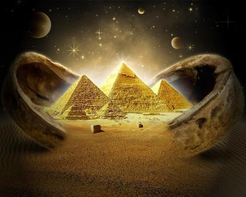Pyramids, Monks, and Reality Chunks.  48
