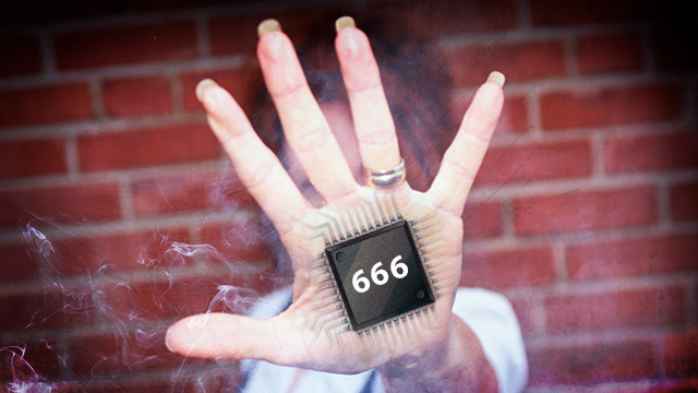 Vintage Eighties Christian Rock Video Warns against '666′ Barcode Implants 95