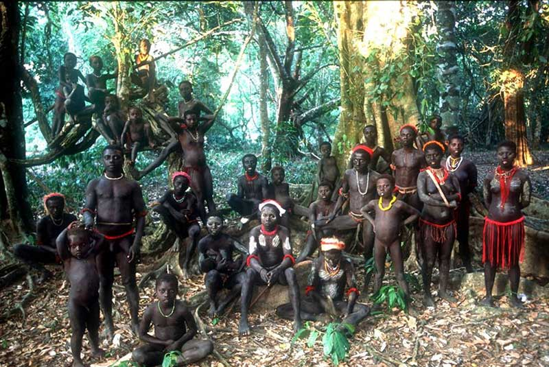 Lost Tribe On Small Island In The Indian Ocean remain virtually untouched by modern civilization 93