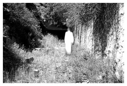 Ireland's most famous ghost - The White Lady of Kinsale, at Charlesfort 1