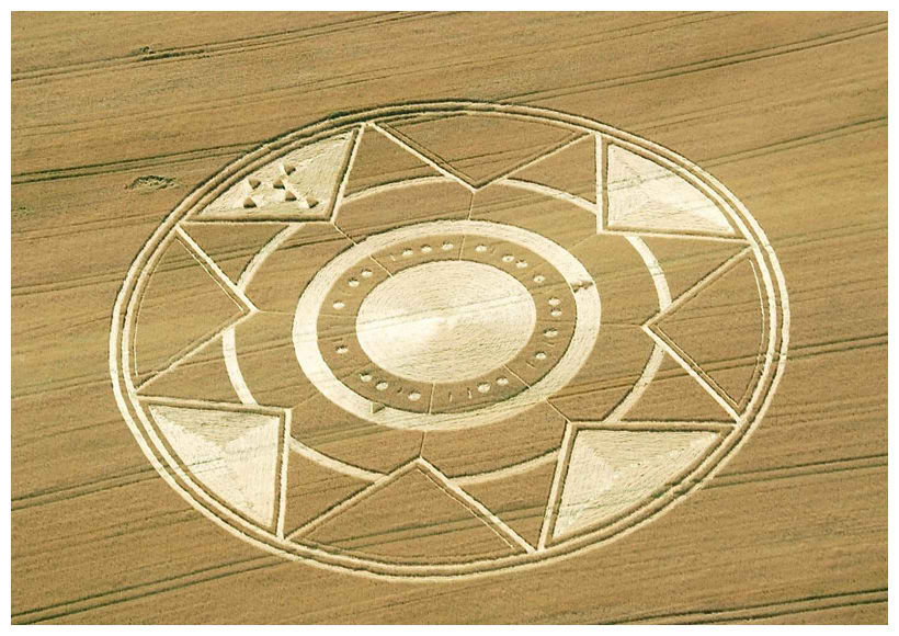 New crop circle in Robella, Italy gives formula for energy? 1