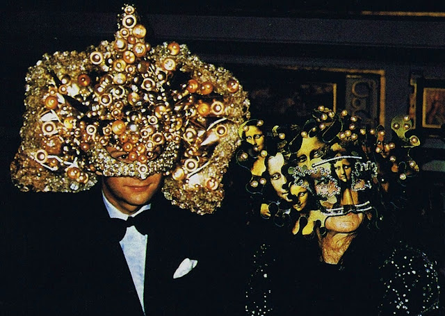 Bizarre pictures from the Rothschild's Illuminati Ball 137