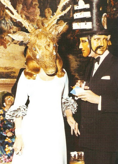 Bizarre pictures from the Rothschild's Illuminati Ball 130