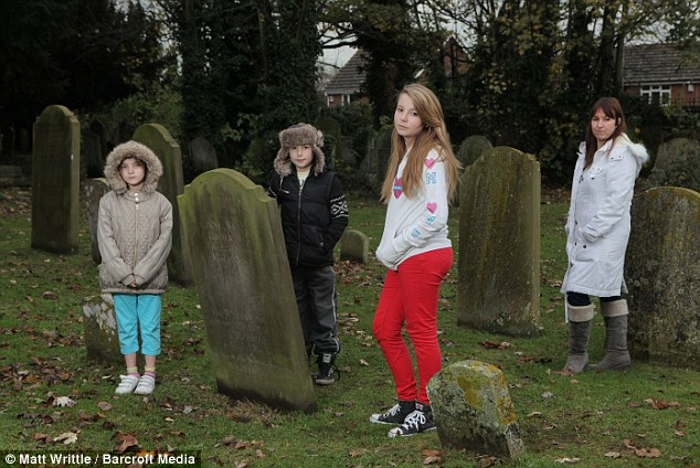Mother claims her children can speak to dead people after they discovered a ghost in the attic 44