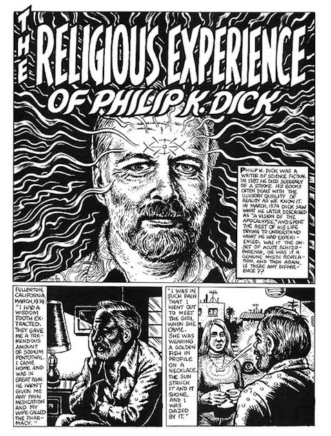 Robert Crumb Illustrates Philip K. Dick's Meeting With God 22