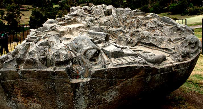 The Ancient And Enigmatic Sayhuite Stone Of Peru 1