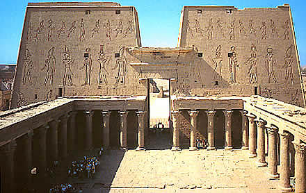Edfu Temple Of Egypt: The Devil In Religion 86