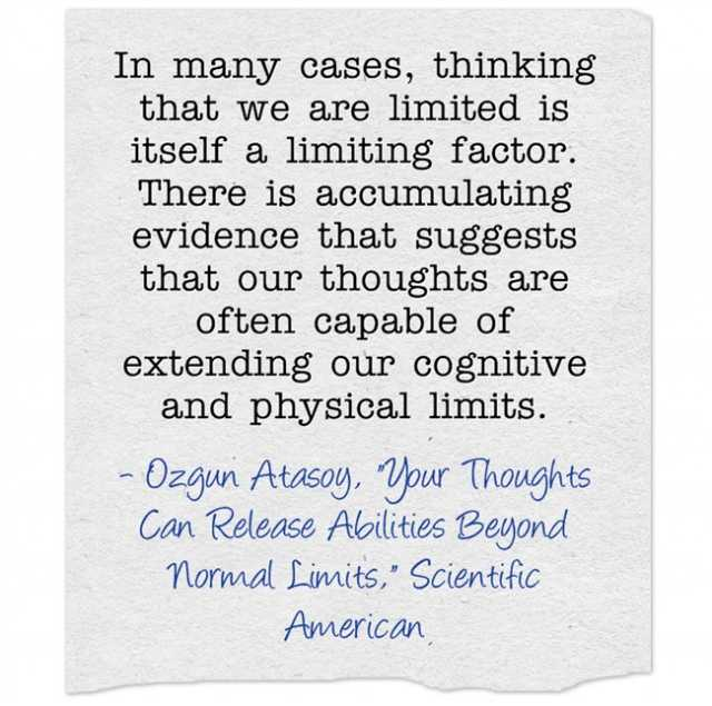 Your Thoughts Can Release Abilities beyond Normal Limits 8