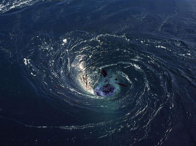 "Satellites Glimpse Ultra-Powerful ""Black hole"" Whirlpools in Atlantic 22"